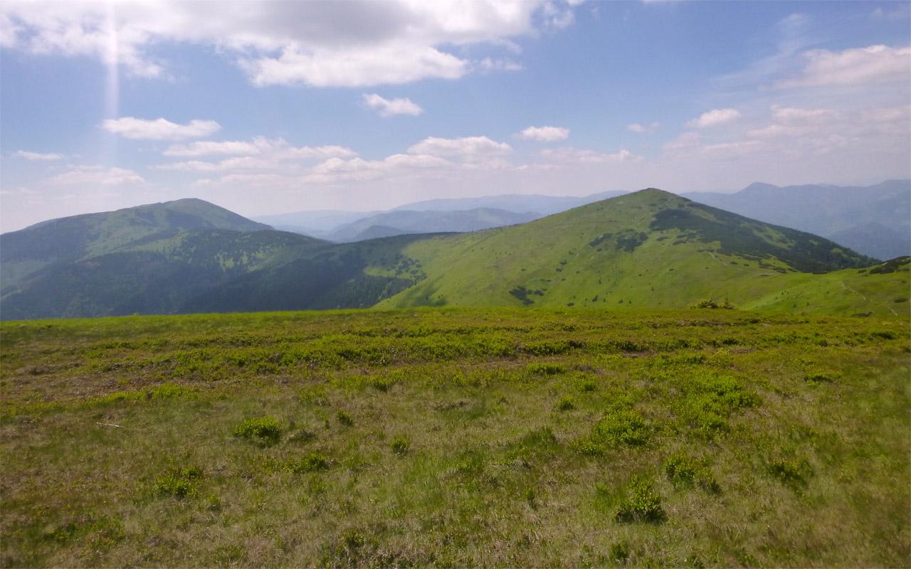 Nonstop beh hrebeňom Nízkych Tatier - Veľká Chochuľa