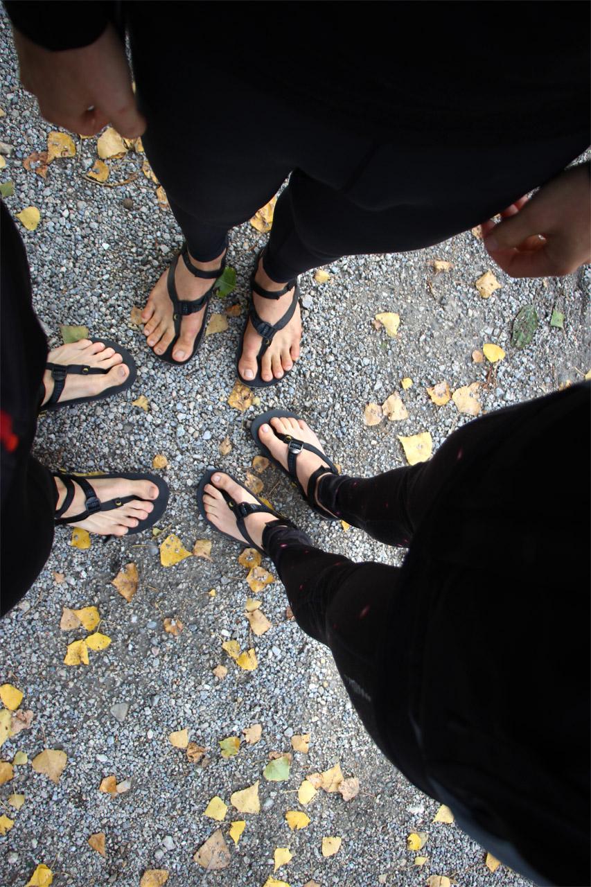 bežecké sandále Luna Oso
