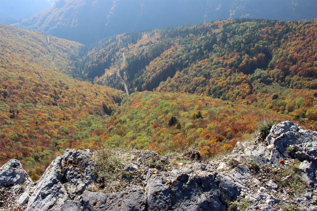 Pohľad z Majerovej skaly