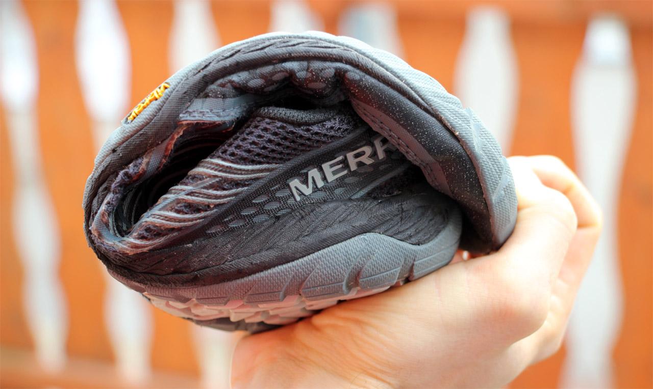 ohybnosť topánky