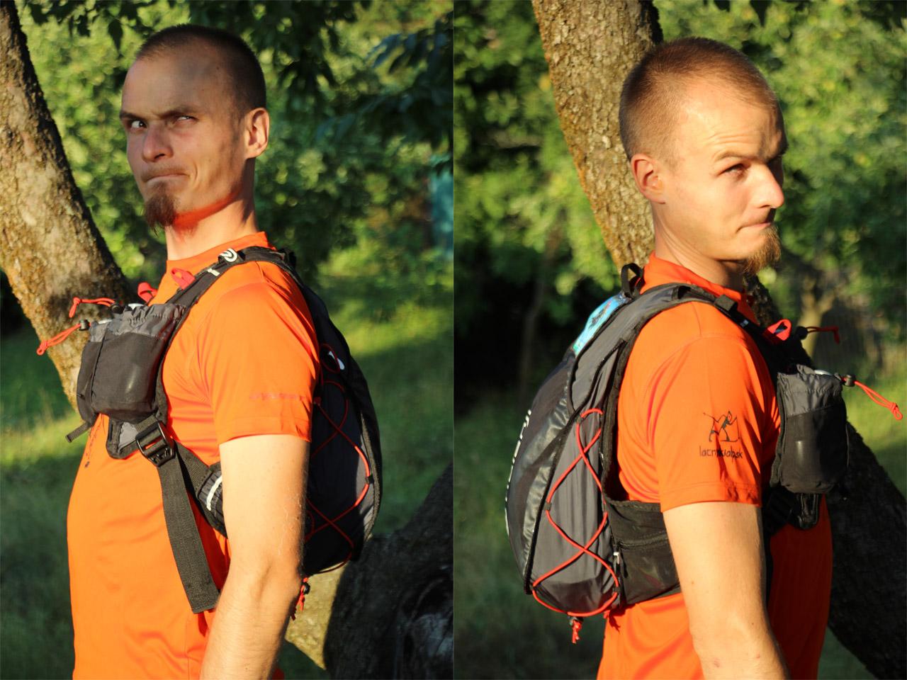A takto batohy vyzerajú na človeku - konkrétne na najkrajšom škriatkovskom modelovi celej Stredozeme - mne