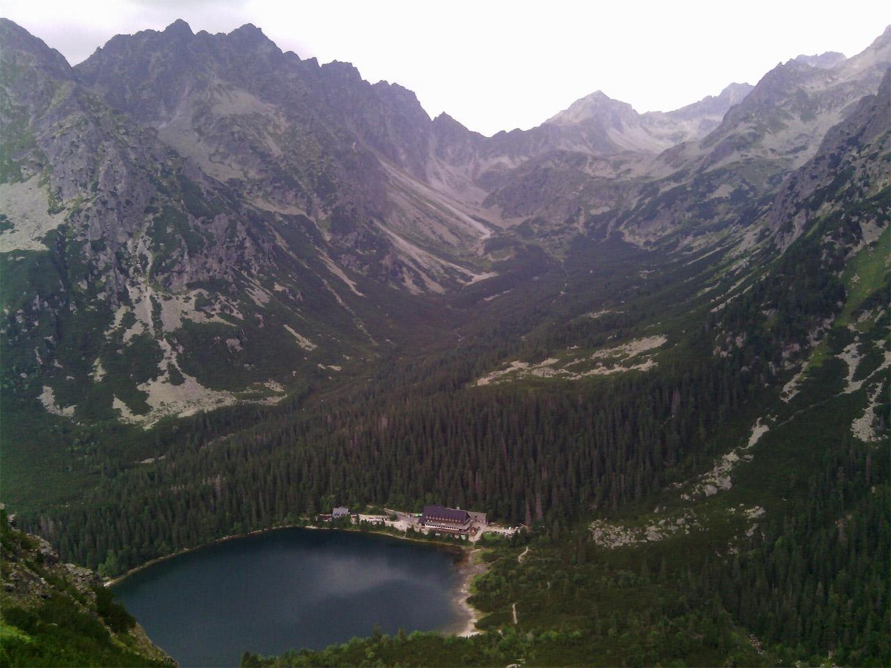 Tatranská šelma ultra 2015: Popradské pleso vo Vyskokých Tatrách