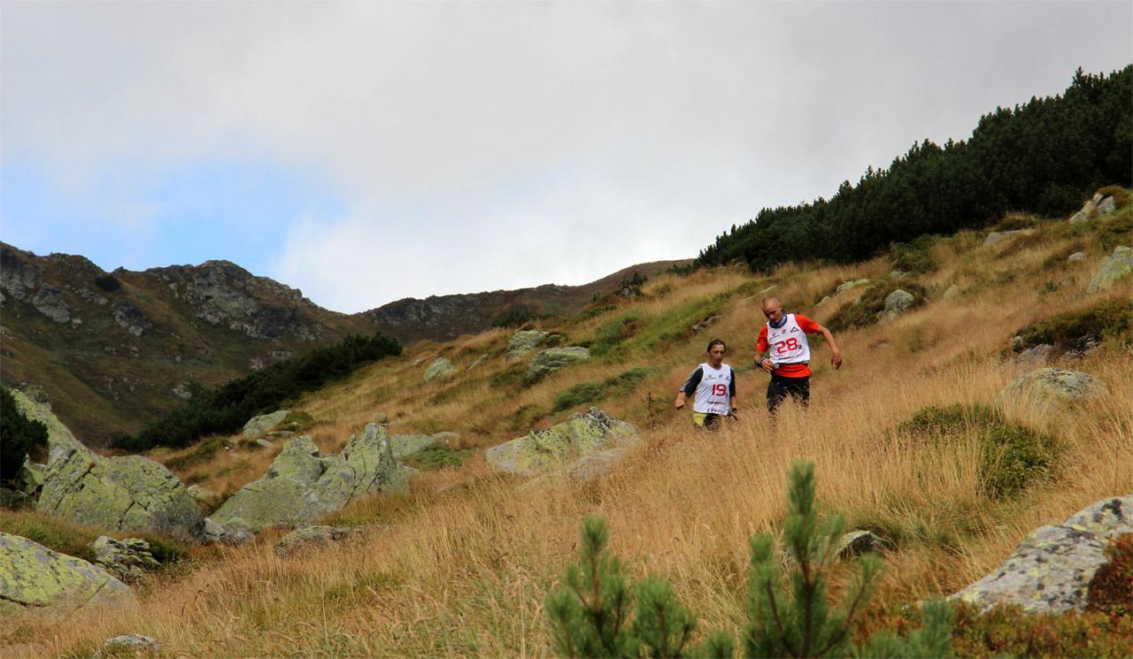 Vysokohorský beh cez Klin 2015 - Petrík v zbehu