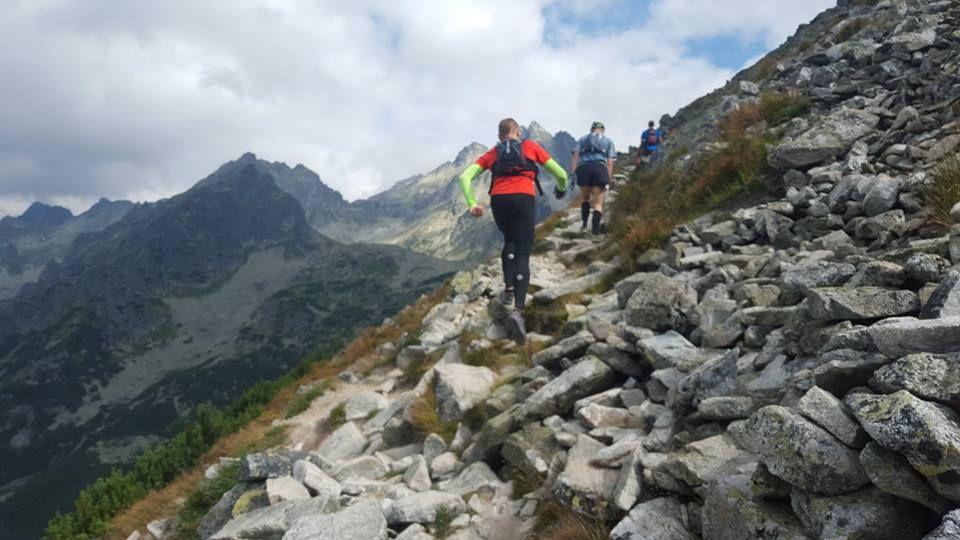 Tatranská šelma ultra 2015: Stúpanie na Ostrvu vo Vyskokých Tatrách