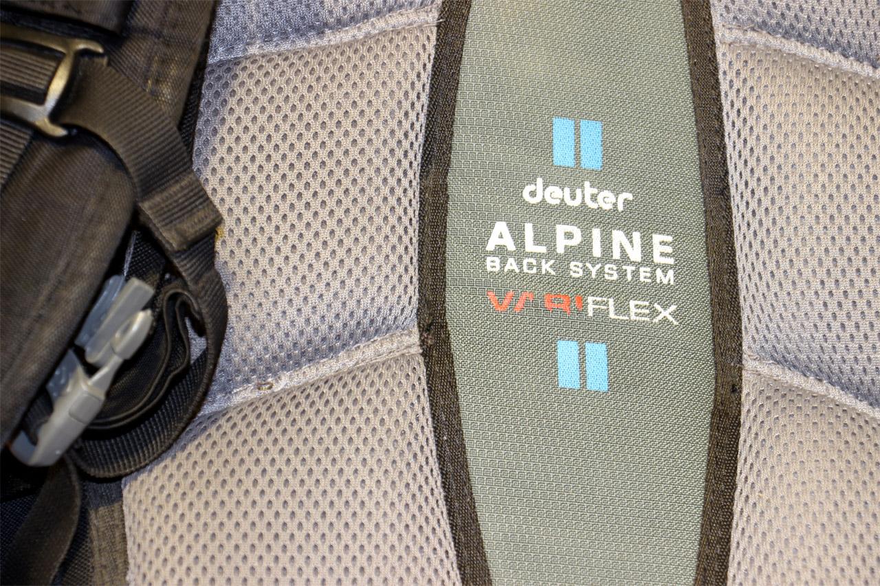 chrbtový systém Alpine