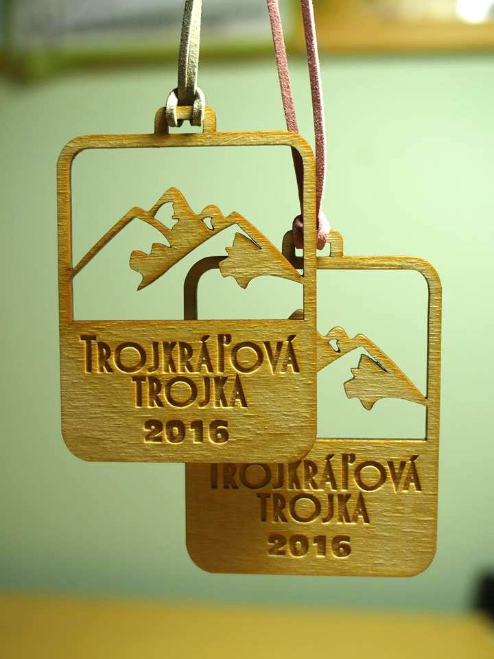 Trojkráľová trojka 2016 - medaily
