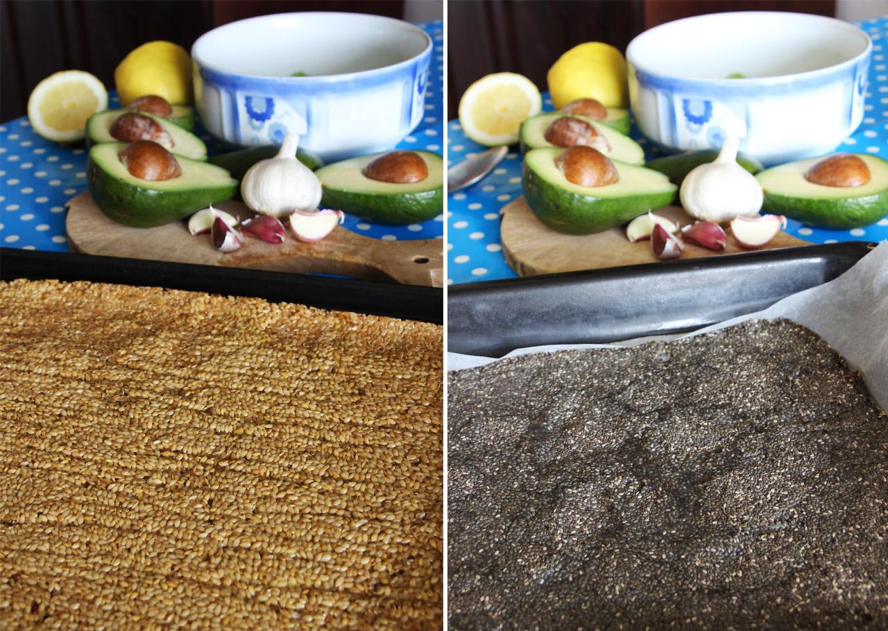 Takto to vyzeralo počas sušenia v rúre na plechoch Z jedálnička bežca #7