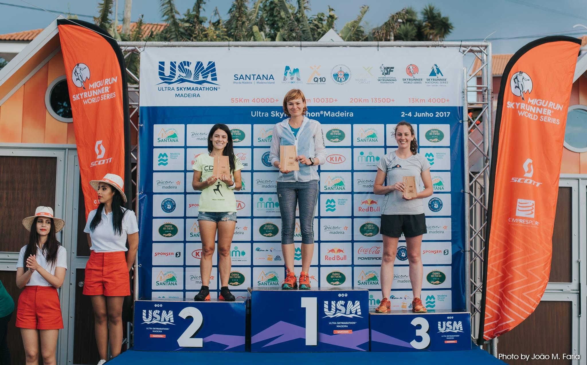 Expresky z hôr 66 - Naša Katka ako víťazka Ultra Skymarathon Madiera, zdroj: Fan page USM
