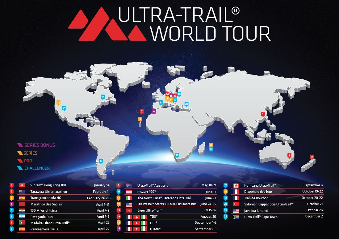 Expresky z hôr 51 - Ultra-Trail World Tour 2017, zdroj: FB page UTWT