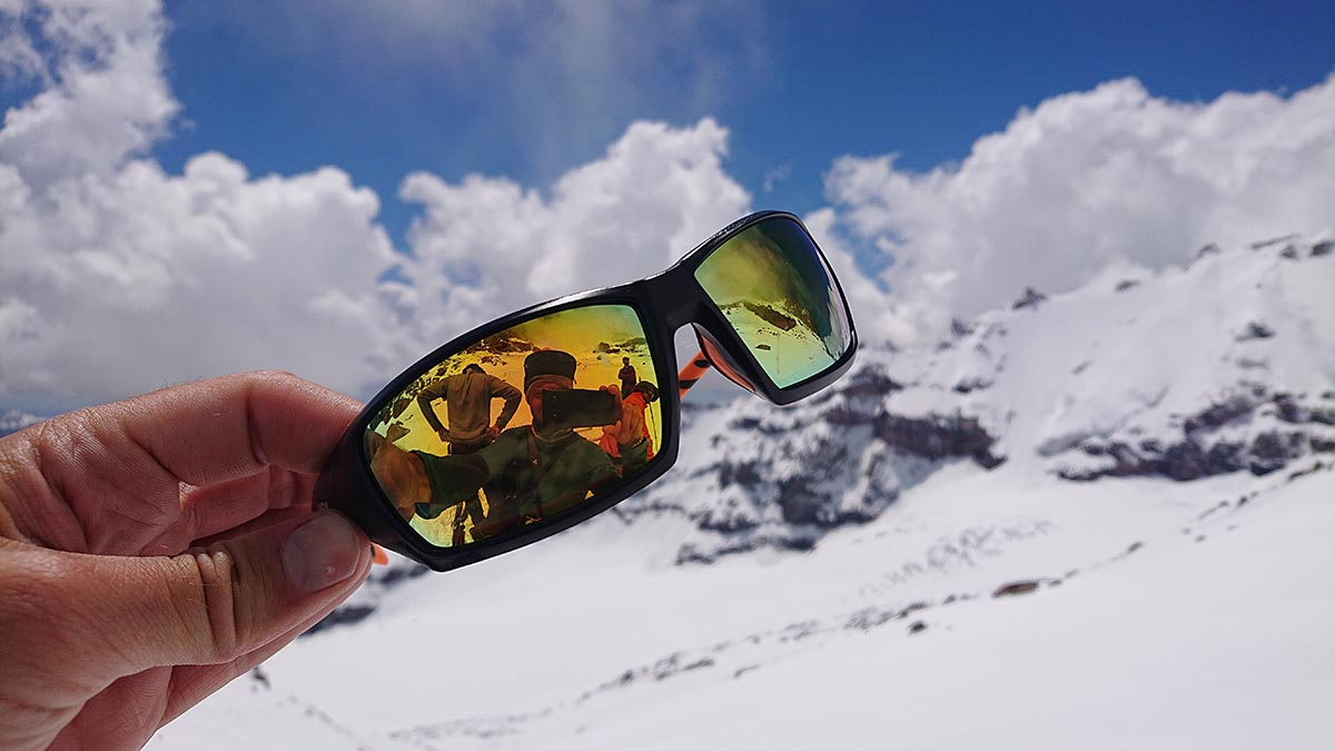 expedičné okuliare Uvex na ladovec s UV filtrom 4