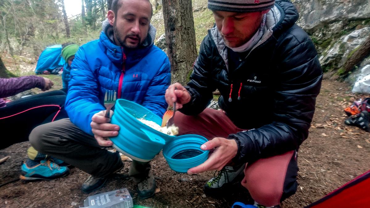 Varenie a kempovanie na priedhori, lezecká oblasť vhodná pre začiatočníkov