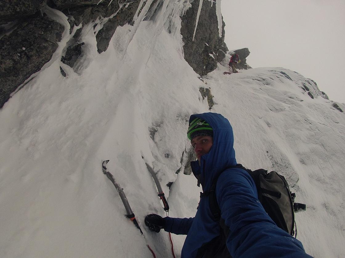 Kunene ako zimná bunda pre horolezectvo