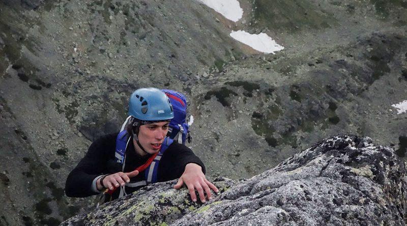 dolez na vrchol, cesta cez výlom, velická stena, vysoké tatry