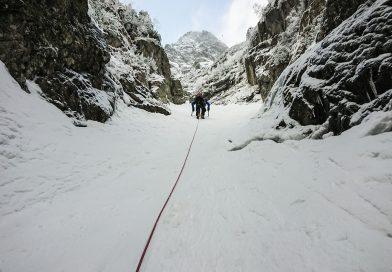 Veľký Mlynárov žlab ako alpský štýl lezenia vo Vysokých Tatrách