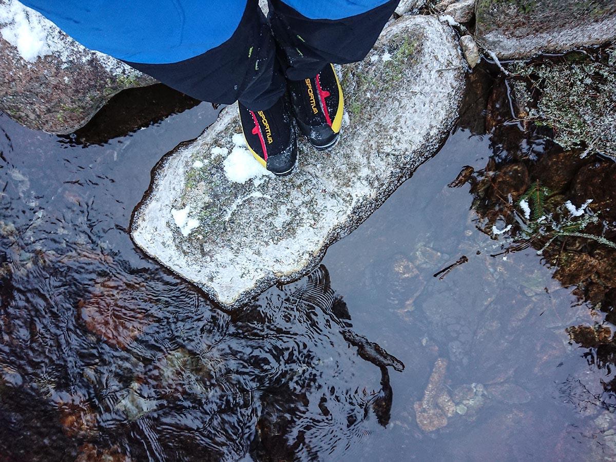 La sportiva G5 lezecké topánky cestou na veľký mlynárov žľab