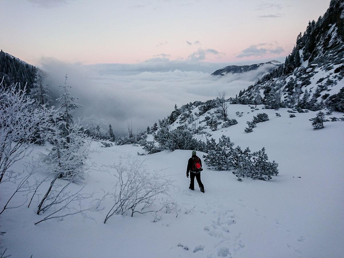 Veľký Mlynárov žľab zimné lezenie vo Vysokých Tatrách