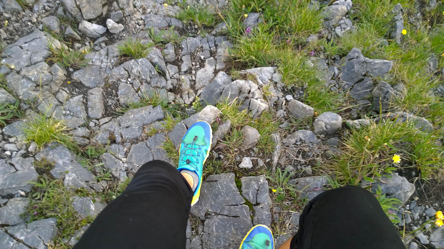 Barefoot Vivo trail freak na kamenoch oblast mala fatra