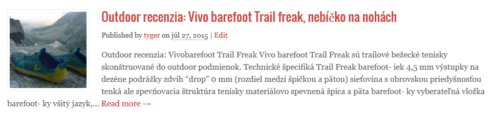 recenzia Vivo barefoot trail freak