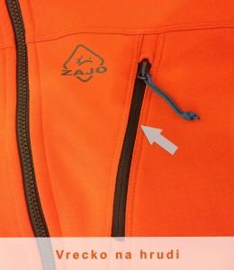 vrecko na hrudi na Volcano bunde