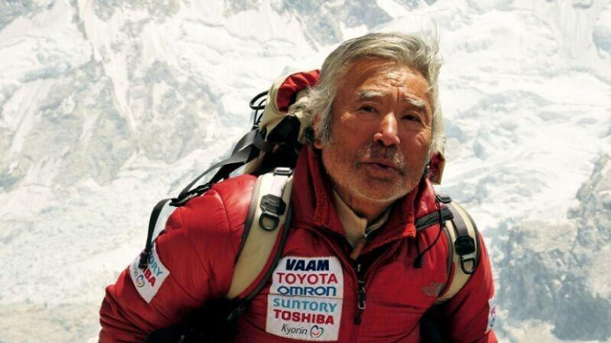 Yuichiro Miura, zdroj: outsideonline.com