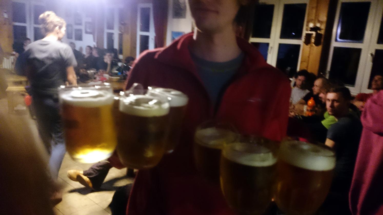 Pivo nesie pivo, núdza nebola na tejto veselici