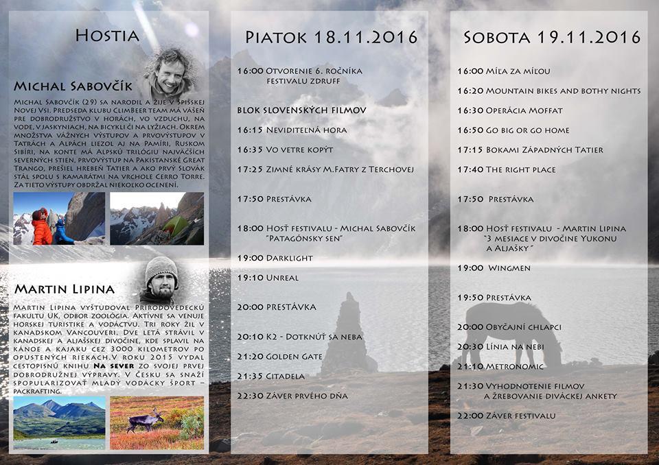 Expresky z hôr 37 - Zdruff 2016, zdroj: FB event Zdruff 2016
