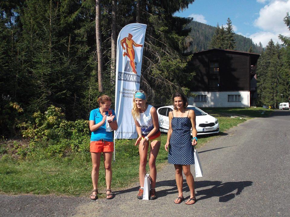 Expresky z hôr 29, Vysokohorský beh cez Klin 2016, víťazky, zdroj: skyrunning.sk
