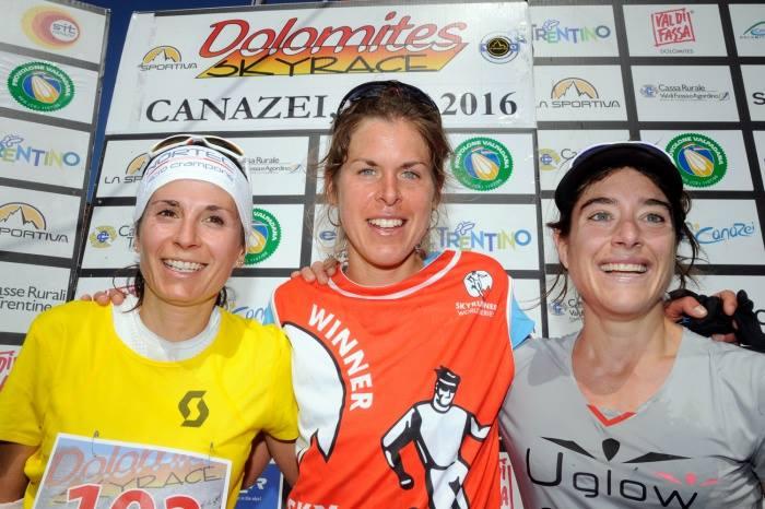 Expresky z hôr 20 - Víťazi ženy, zdroj: FB page Dolomites SkyRace